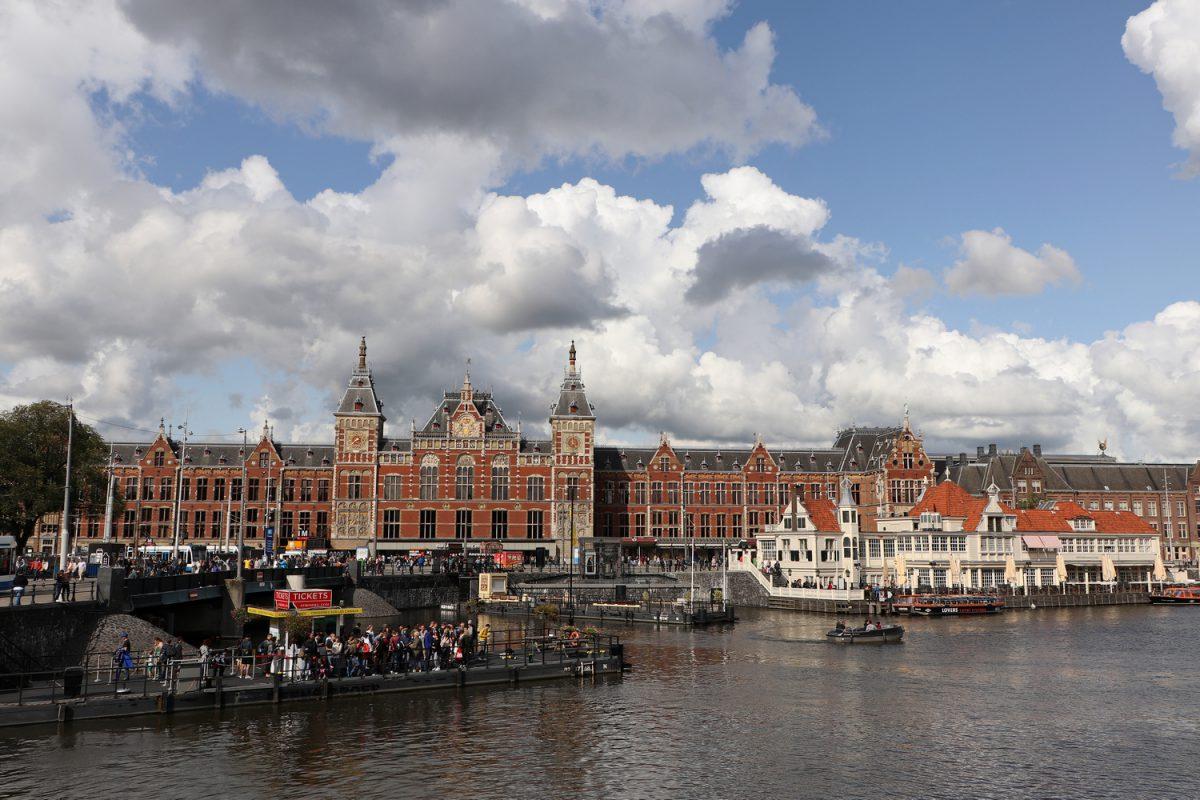 Amsterdam Centraal Hauptbahnhof Bahnhofsgebäude