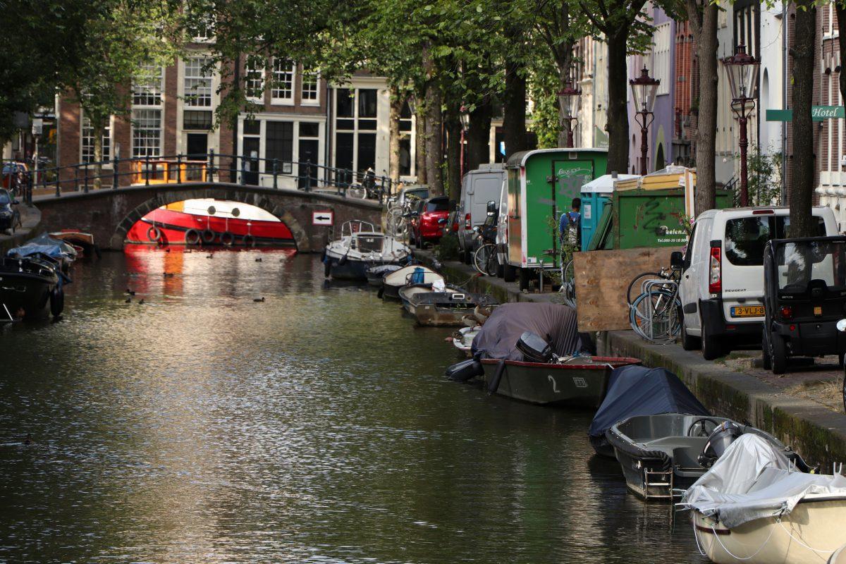 Amsterdam Groenburgwal Gracht
