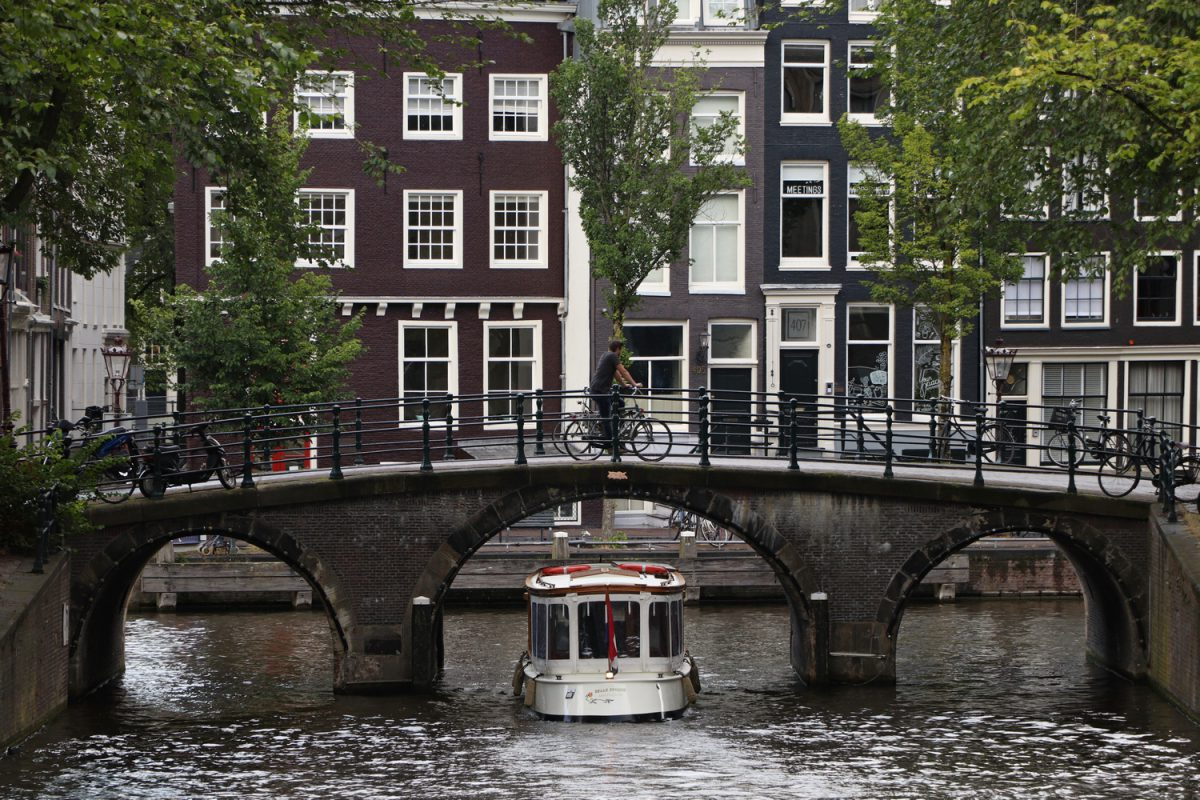 Amsterdam Brücke Gracht
