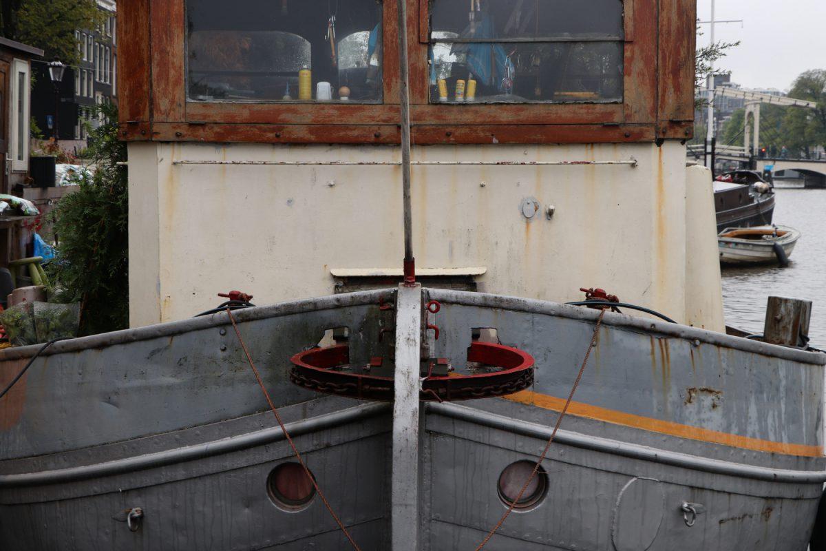 Amsterdam Hausboot Detail