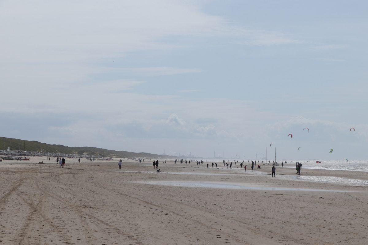 Der Strand von Egmond aan Zee