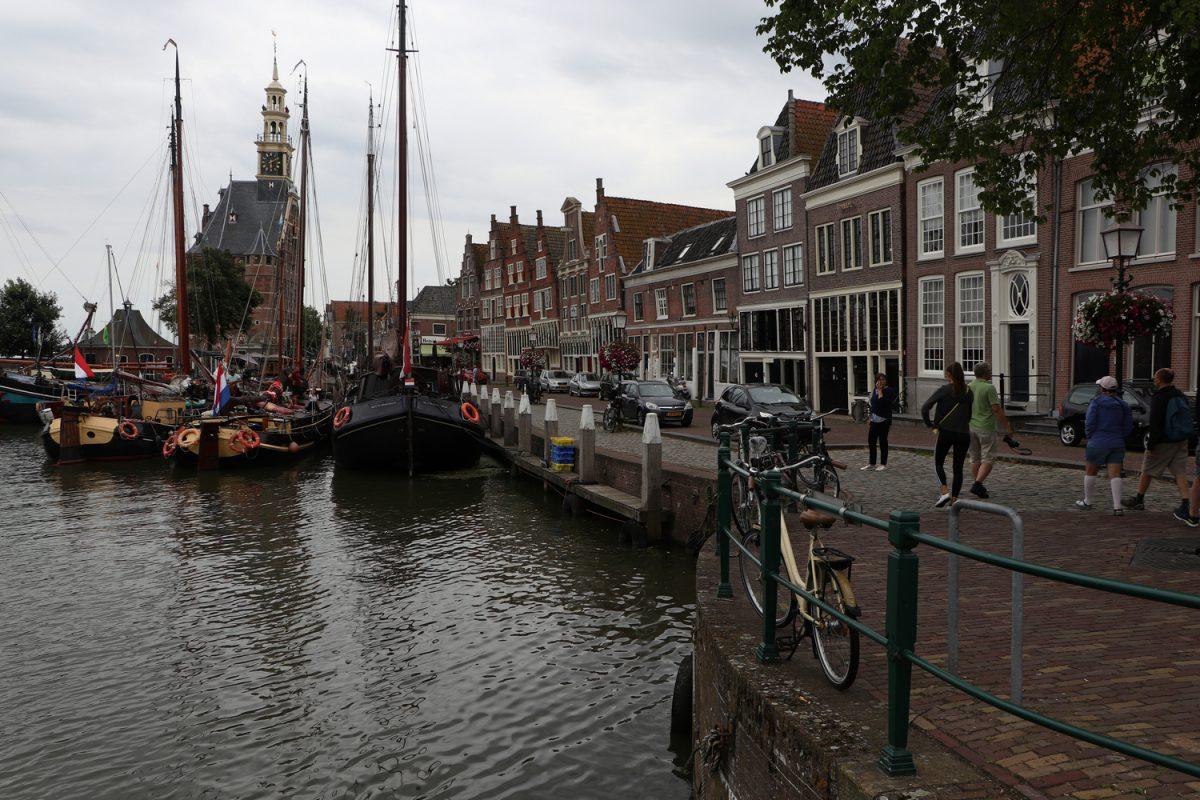 Der Hafen von Hoorn in Nordholland