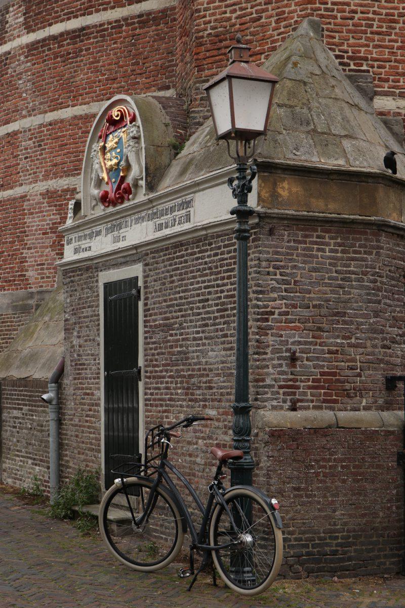 Die Altstadt von Hoorn in Nordholland