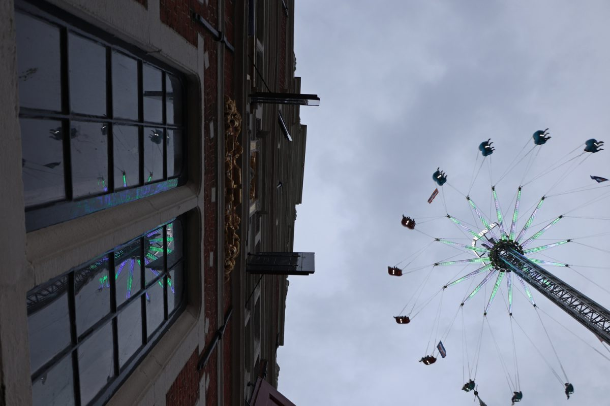 Kermis Hoorn in der Altstadt von Hoorn