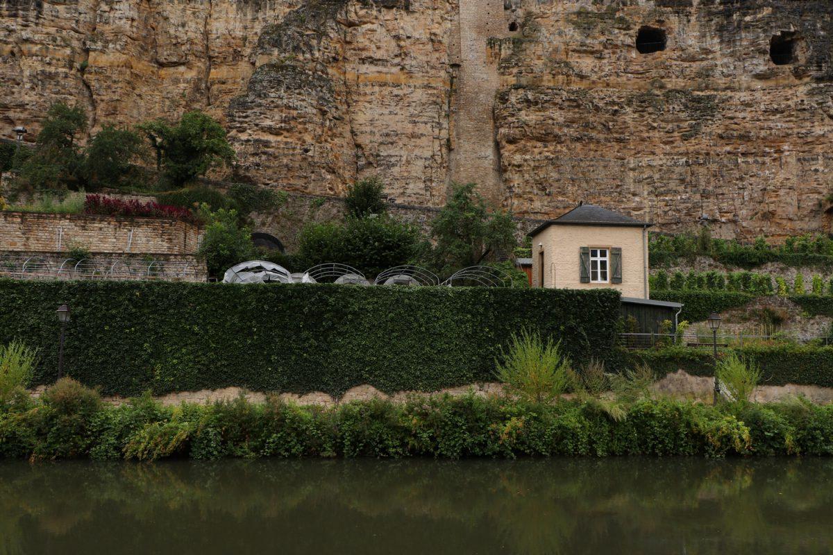 Luxemburg Grund im Regen