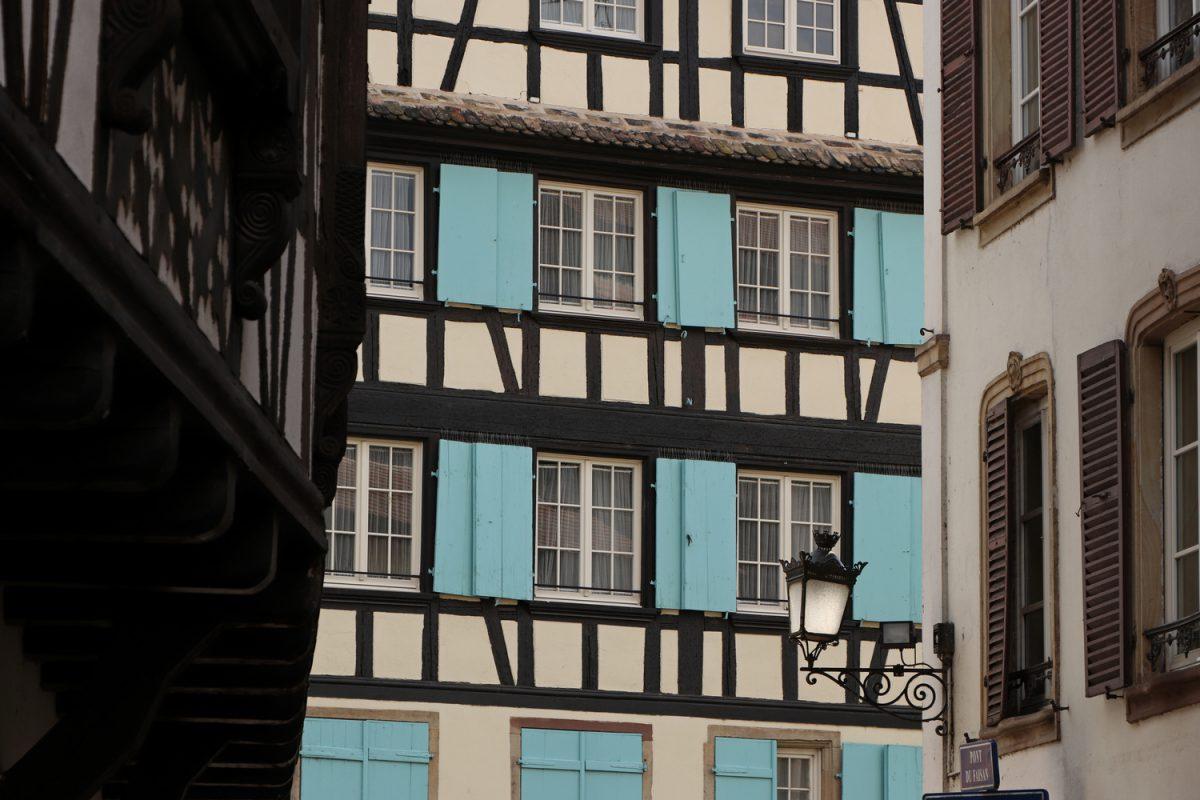 Straßburg Häuserfassaden im Petite France