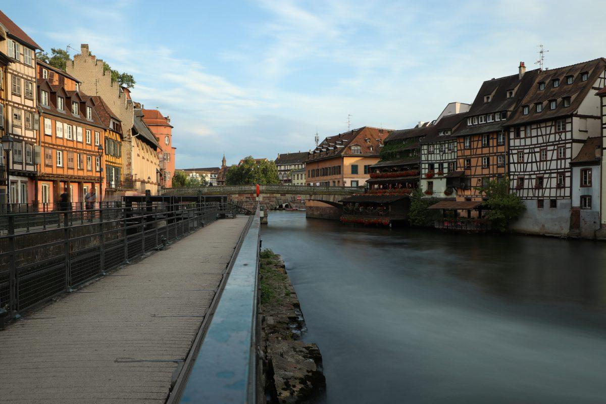 Straßburg Petite France Langzeitbelichtung