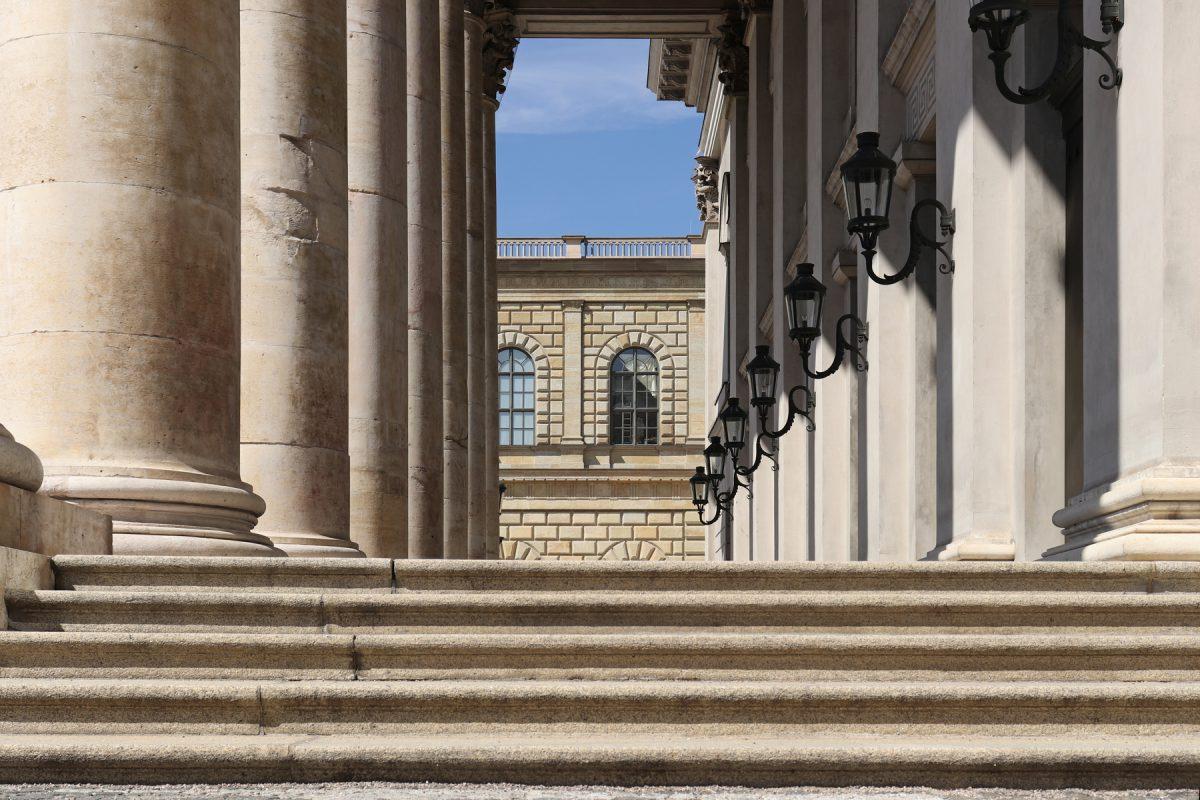 München Staatsoper Portikus