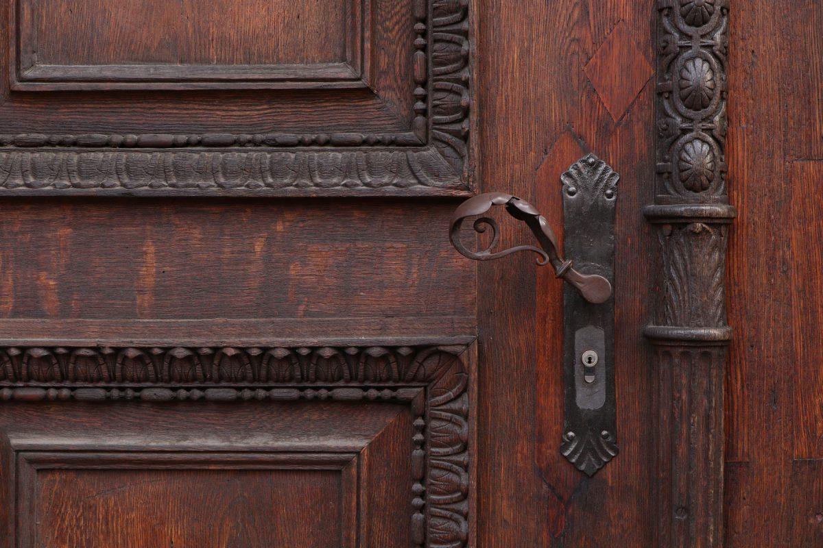 Holztür Details in München