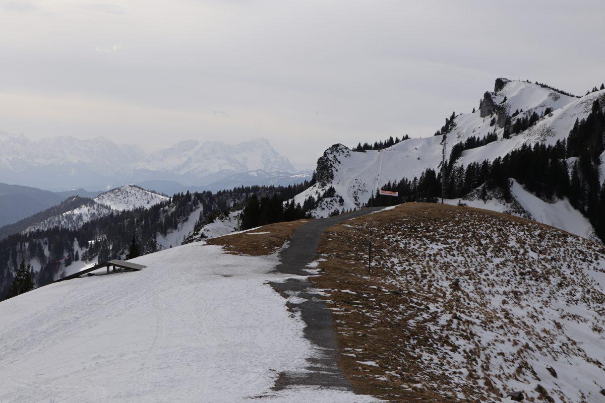 Bergpanorama vom Brauneck Lenggries