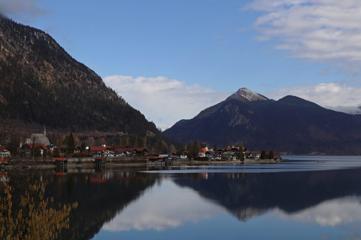 Blick auf den Walchensee