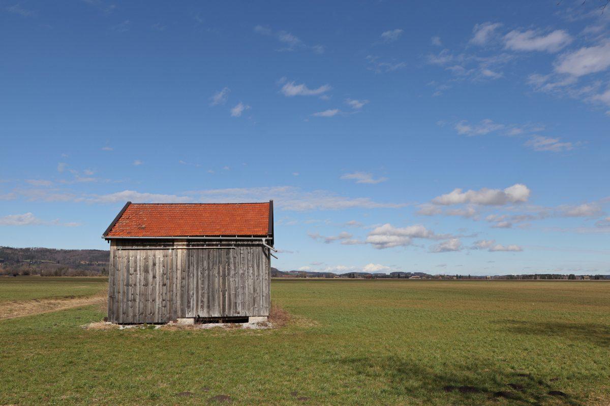 Hütte in der Nähe des Kochelsees