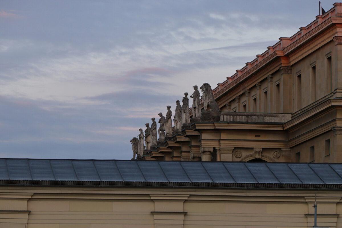 Residenz Fassade zum Hofgarten München