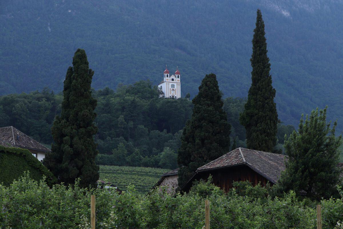 Kirche in Eppan in Südtirol