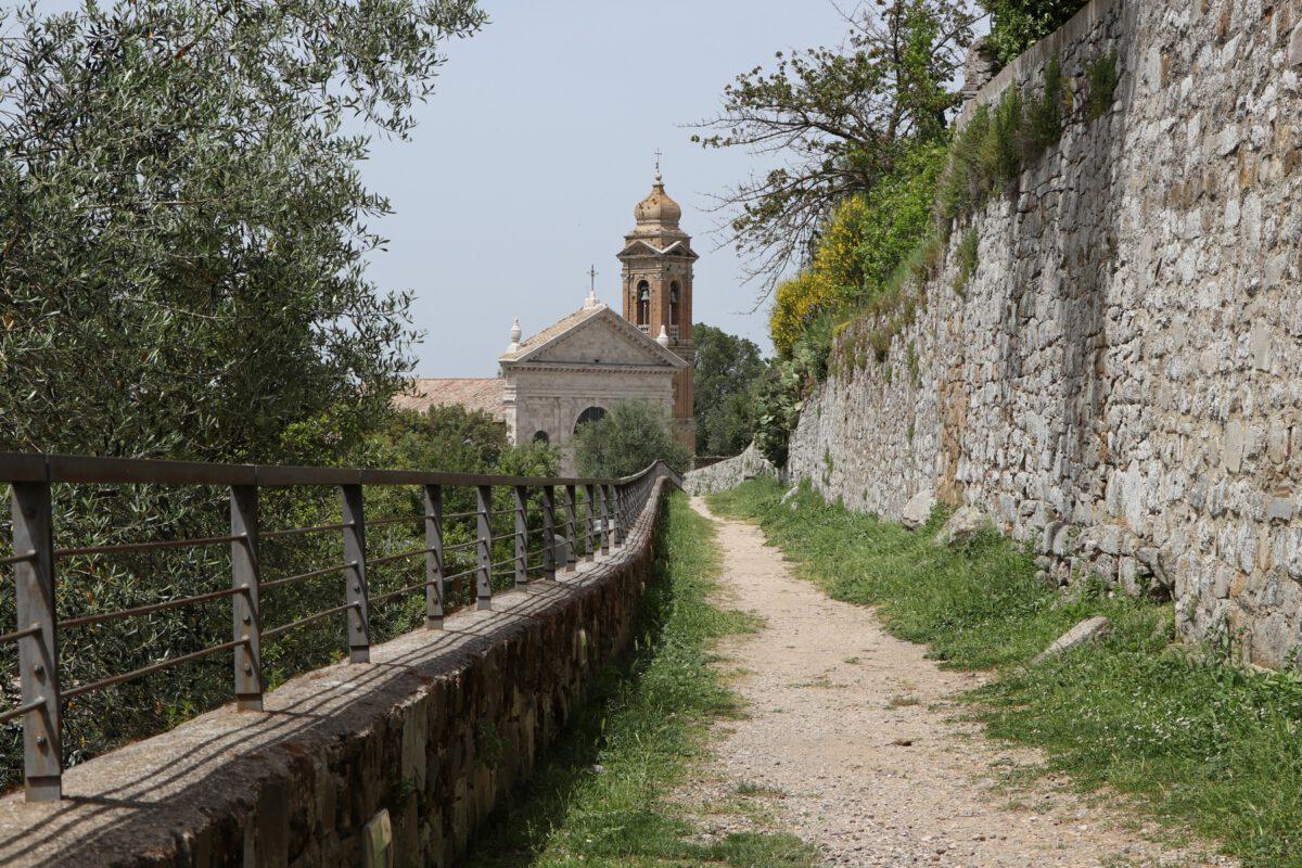 Kirche in Montalcino in der Toskana