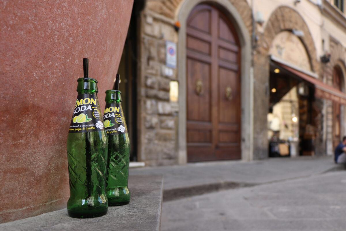 In der Altstadt von Florenz in der Toskana