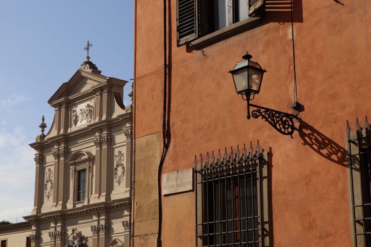 Kirche in Florenz in der Toskana