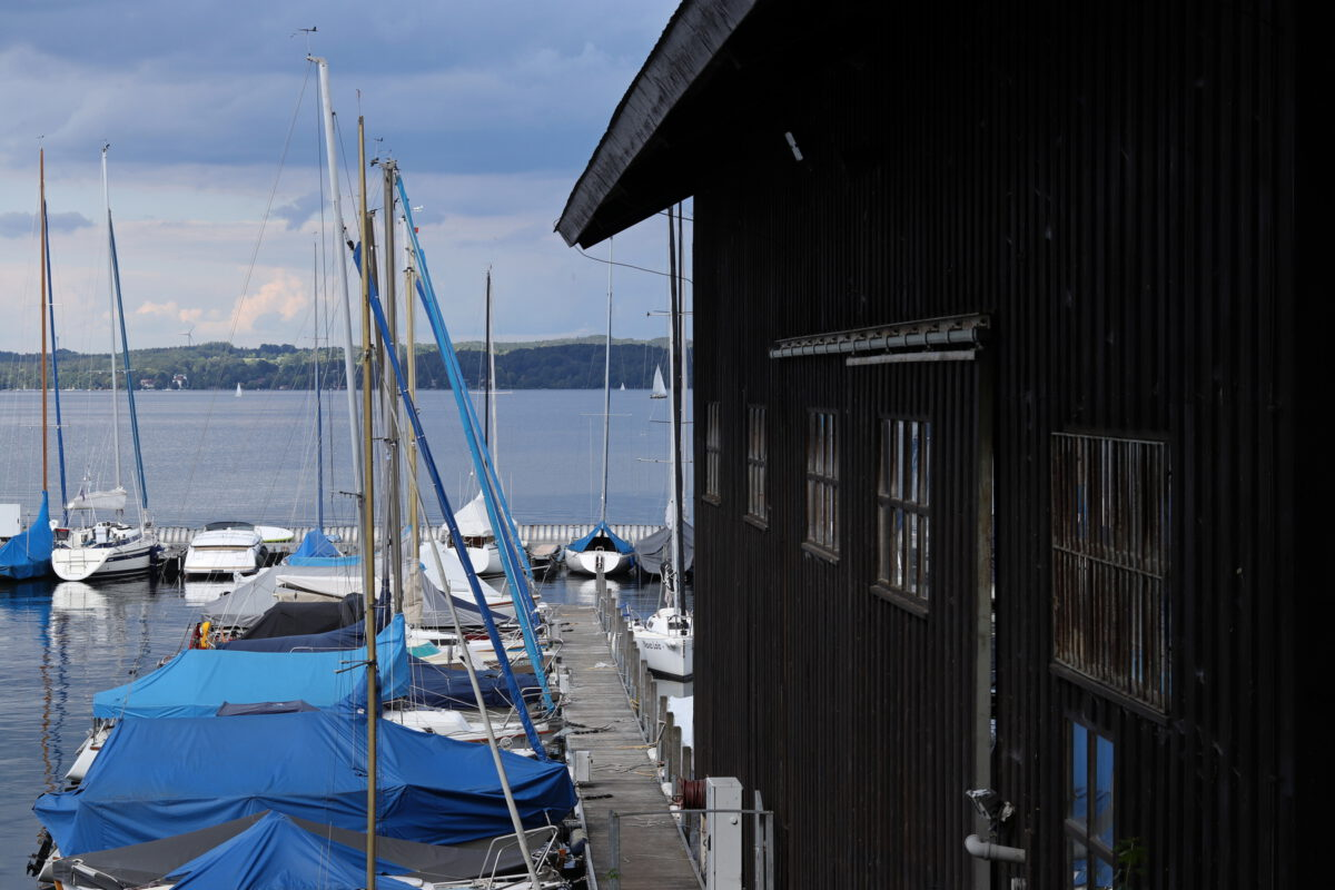 Hafen in Bernried am Starnberger See