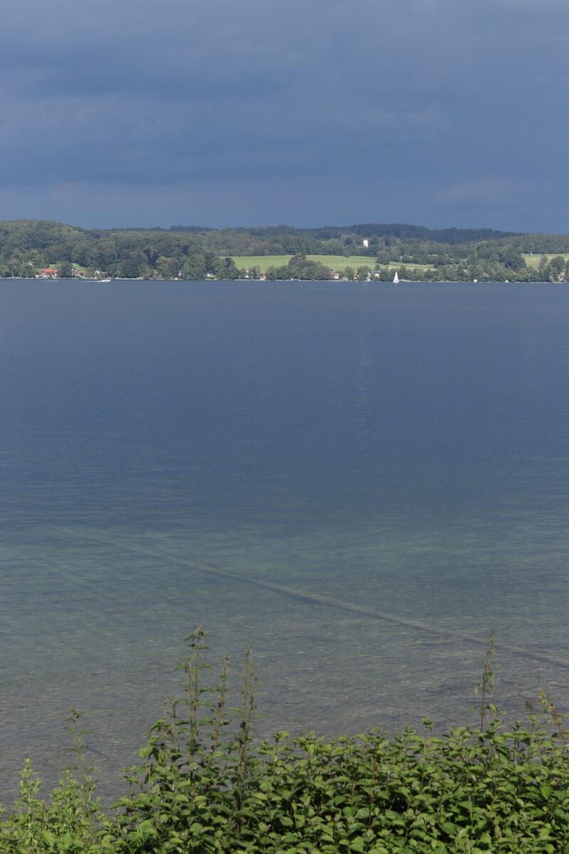 Blick auf den Starnberger See von Bernried