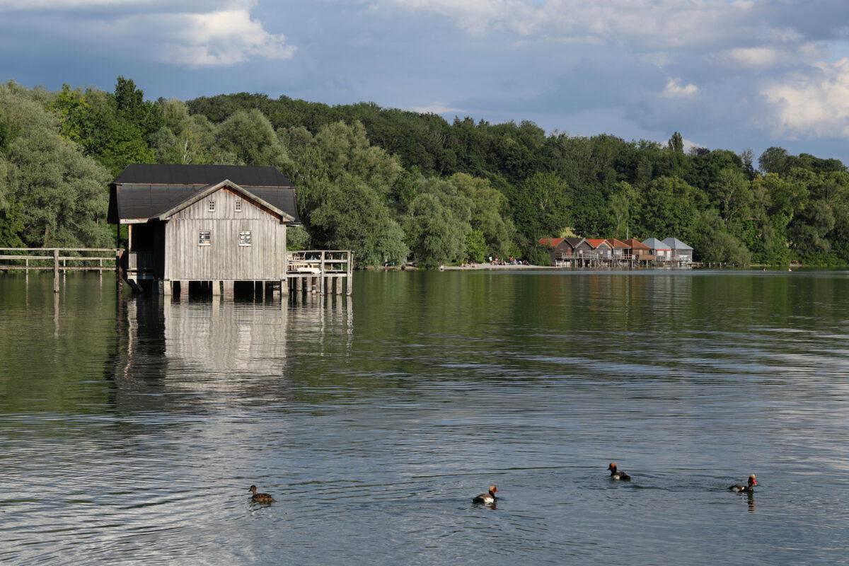 Bootshaus in Stegen am Ammersee