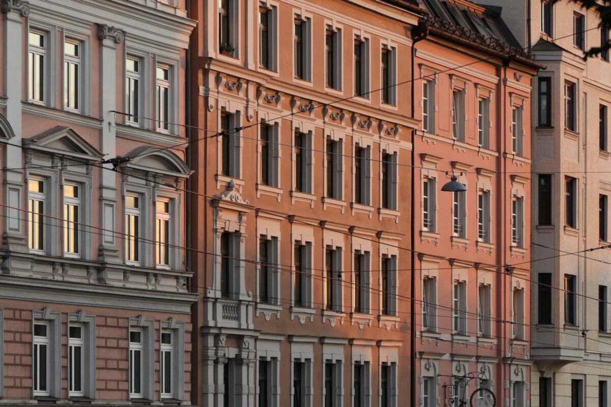 Fassaden am Gasteig in München