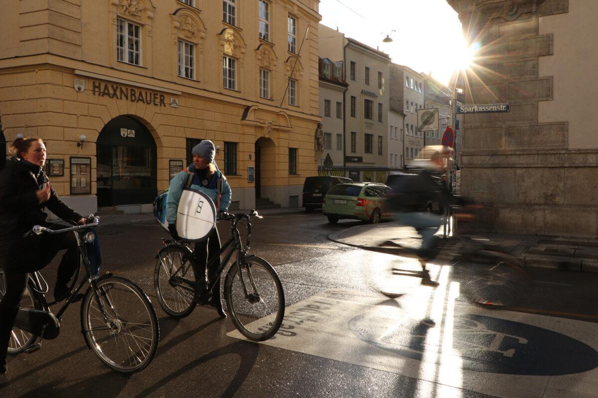 Morgenstimmung in der Münchner Innenstadt