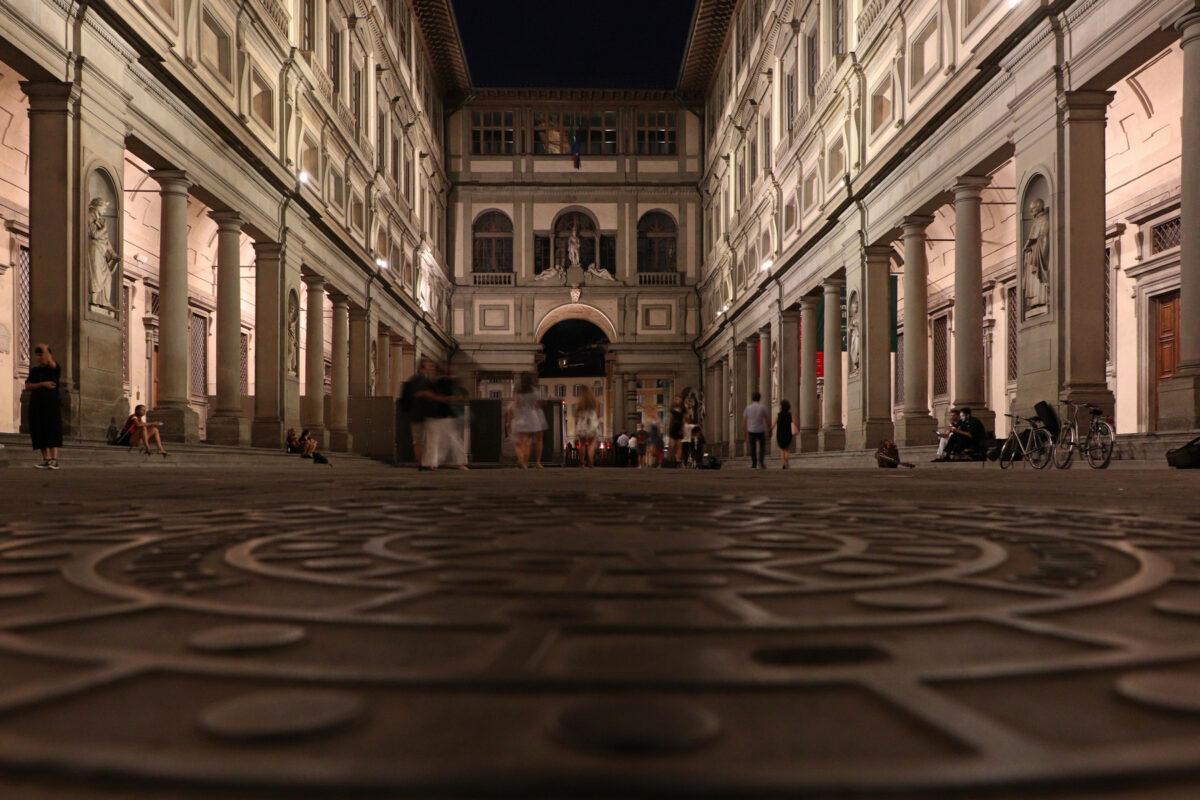 Die Uffizien in Florenz in der Toskana Italien