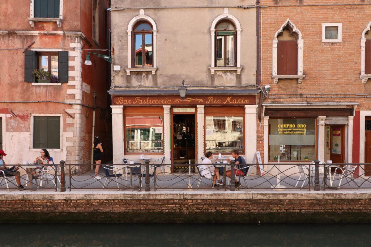 Kanal in Santa Croce in Venedig